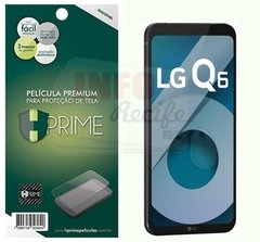 Película HPrime PET Invisível LG Q6 / Q6 Plus - 926 na internet