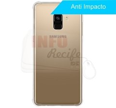 Capa TPU Anti Impacto Transparente Samsung Galaxy A8 Plus