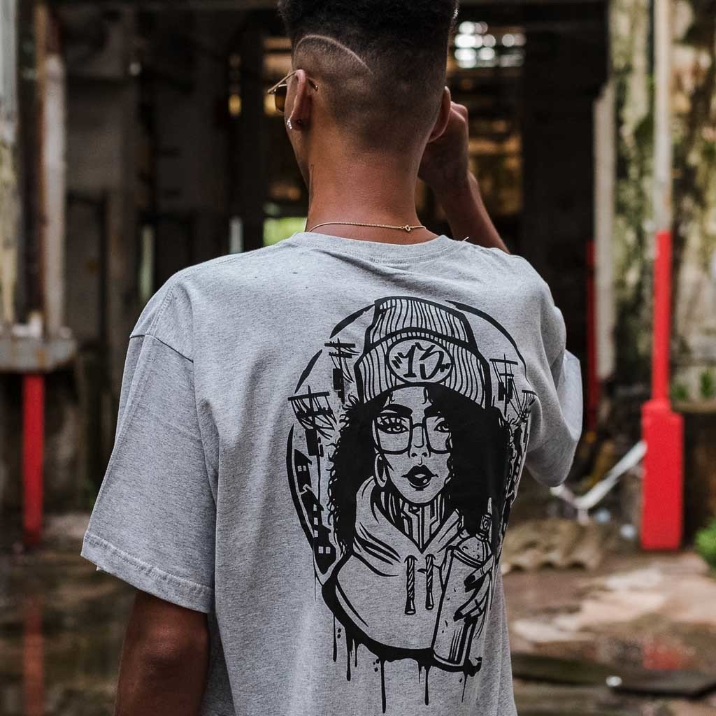 Camiseta Graffiti Girls