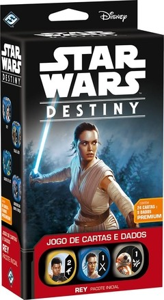 STAR WARS DESTINY - PACOTE DECK INICIAL REY