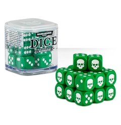 Kit de Dados  Warhammer - Bone/ Grey/ Black/ Red/ Green or Blue - Pittas Board Games