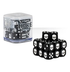 Kit de Dados  Warhammer - Bone/ Grey/ Black/ Red/ Green or Blue