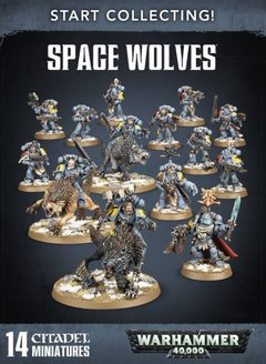 START COLLECTING! SPACE WOLVES - Warhammer 40k