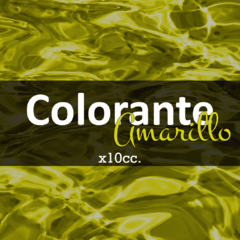 Colorante «Amarillo» x 10cc.