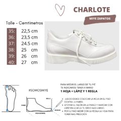 Zapatillas Blanco Charlotte en internet