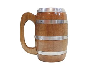 Caneca Viking Barril - 400ml