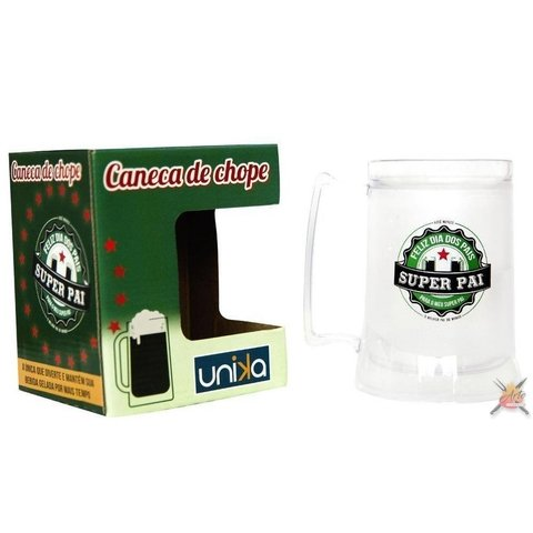 Caneca Gel Super Pai -450 ml Unika