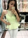 Blusa Peplum Candy Color
