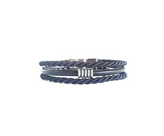Pulseira Masculina Couro Tribal Fecho Magnetico - loja online