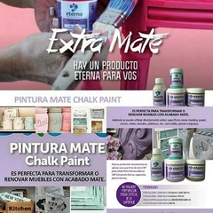 Pintura chalk eterna x 200ml Amarillo claro - The Pencil Store