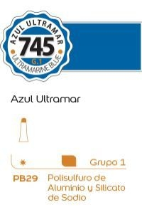 Tempera Alba G1 18ml. (745) Azul ultramar