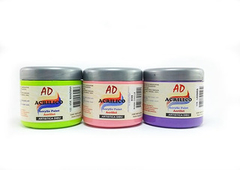 Acrilico decorativo AD 200ml. Negro