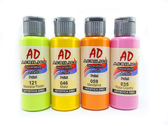 Acrilico decorativo AD 60ml. Rojo AD