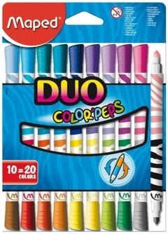 Marcador Maped Colorpeps duo