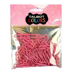 Clips Talbot pastel 33mm x 100u - The Pencil Store