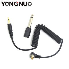 Cable Yongnuo LS-PC/3.5 (PC Sync - Plug 3.5 + Adap. 6.5)