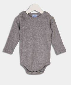 Body m/larga gris melange