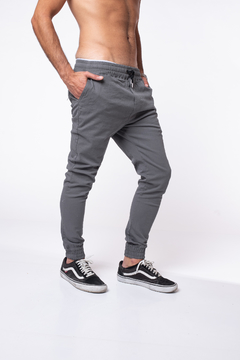 Jogger Slash Gris Smoke
