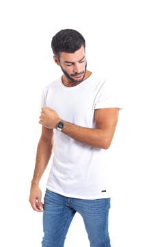 Remera Mint White