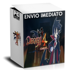 DISGAEA 4 COMPLETE PC - ENVIO DIGITAL