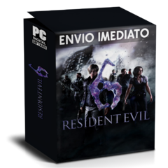 RESIDENT EVIL 6 PC - ENVIO DIGITAL