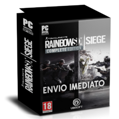 TOM CLANCY'S RAINBOW SIX SIEGE (COMPLETE EDITION) PC - ENVIO DIGITAL
