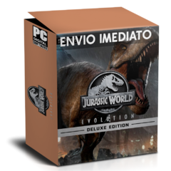 JURASSIC WORLD EVOLUTION  (DIGITAL DELUXE EDITION) PC - ENVIO DIGITAL