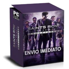 SAINTS ROW THE THIRD (REMASTERED) PC - ENVIO DIGITAL