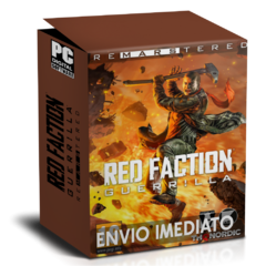RED FACTION GUERRILLA RE-MARS-TERED PC - ENVIO DIGITAL