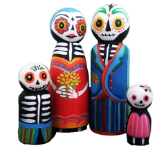 KIT CUMPLE + STICKERS CALAVERAS MEXICANAS - comprar online