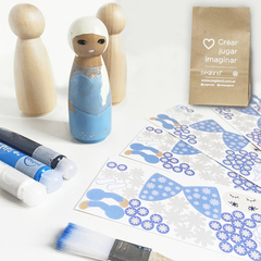 KIT CUMPLE + STICKERS PRINCESAS - comprar online