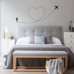 Vinilo Decorativo Route Love - comprar online