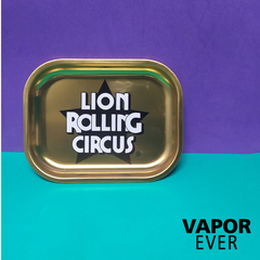 Bandeja Lion Rolling Circus Gold Edition (18 X 14 Cms.) - VaporeEver