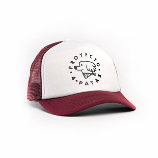 Gorra P4P - Bordó