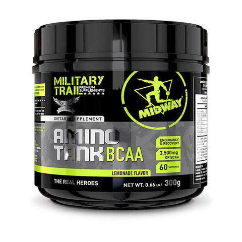 AMINO TANK BCAA 300G MILITARY TRAIL - MIDWAY