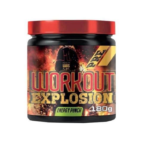 PRE WORKOUT EXPLOSION 180G - HEALTH LABS