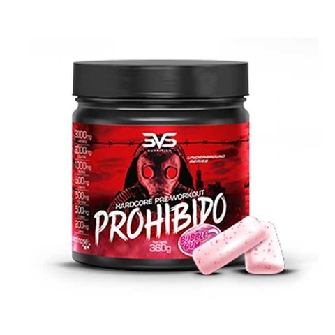 PROHIBIDO 360G BUBBLE GUM - 3VS NUTRITON