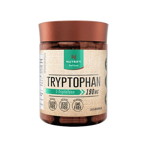 TRYPTOPHAN 190MG 60(CAPS) - NUTRIFY