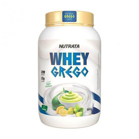 WHEY GREGO 900G CREME DE ABACATE - NUTRATA