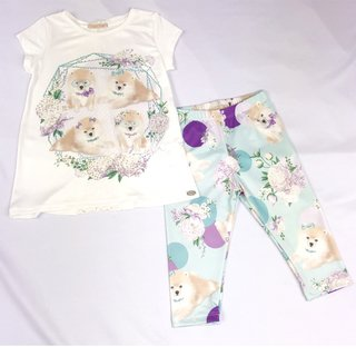 Conjunto Manga Legging Color Fresh Petit Cherie