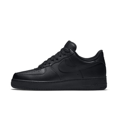 AIR FORCE 1 LOW '07 BLACK ON BLACK - MEN'S