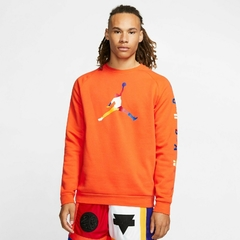 "JORDAN DNA HBR FLEECE ""ORANGE"" CREW - MEN'S en internet"