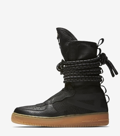 "NIKE SF-AF1 HIGH BOOTS ""BLACK/GUM"" - MEN'S"