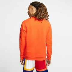 "JORDAN DNA HBR FLEECE ""ORANGE"" CREW - MEN'S - tienda online"