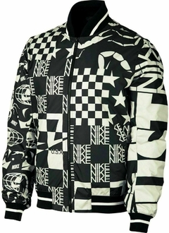 NIKE SPORTSWEAR ALLOVER PRINT JACKET SCORPION