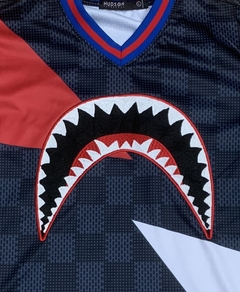 Hudson Shark Mouth Hometown Bape Jersey - comprar online