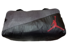 Air Jordan Jumpman Ele Print Duffel Gym Bag Black/Grey en internet