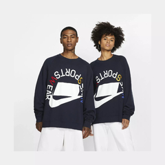 Nike NSW CREW NECK SWEATER French Terry Crew Dark Obsidian en internet