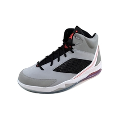 Nike Men's Air Jordan Flight Remix Wolf Grey/Infrared 23-Black 679680-060 - comprar online