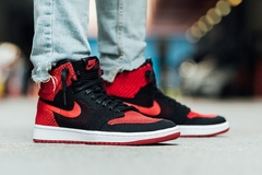 Nike Air Jordan 1 Retro High Hi Flyknit Banned Bred